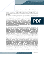 Disciplinaridade Multi Inter e Transdisciplinaridade Ivan Domingues