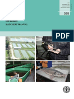 Sturgeon Hatchery Manual