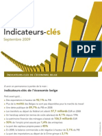 Indicateurs-clés FEB, indicateurs-clés de l'économie belge