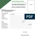 Form Pendaftaran ISPO