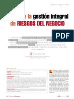 Coso 11 y La Gestion Integral de Riesgos Del Negocio