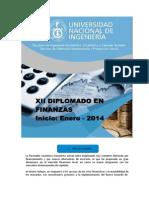Xii Diplomado en Finanzas