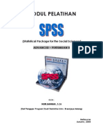 Modul Spss Advanced