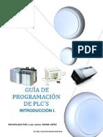 MANUAL DE PROGRAMACION DE PLC´s