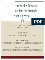 Integrating KPI Inti Strategic Planning Process