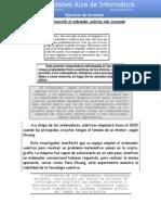 Ejercicio de formatos de texto