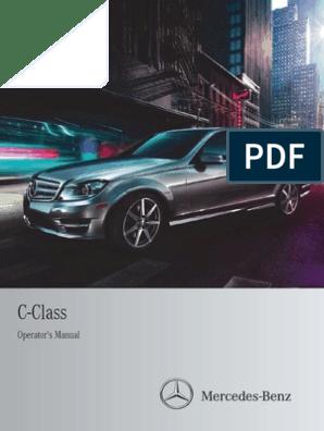 Mercedes Benz C250 Car Full Manual   Headlamp   Automatic