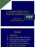 Material de Apoyo 11 Conducción de la Politca Monetaria
