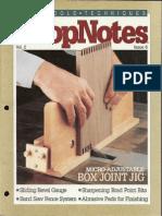 ShopNotes #08 - Box Joint Jig