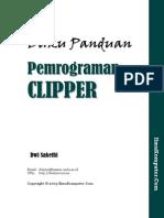 Tutorial Panduan Pemrograman Clipper