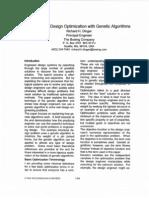 Genetic Algorithims in Engineering