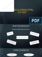 Group 7_Musculoskeletal System Final