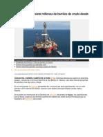 Pemex Exporta Siete Millones de Barriles de Crudo Desde Tabasco