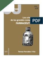 CRIMENES FARMACEUTICOS - TERESA FORCADES