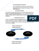 La Intermediacion Financiera
