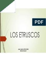 Unidad 6 Los Etruscos - Juan Carlos López Flórez