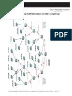 6 4 2 challenge vlsm calculation and addressing design