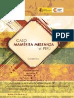 Caso Mamerita Mestanza - CLADEM