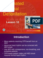 10 Automated External Defibrillation