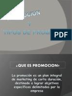 Promocion y Tipos de Prmociones