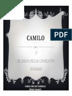 Unidad 6 Camilo y el inicio de los conflictos sociales - Vanesa Hincapié