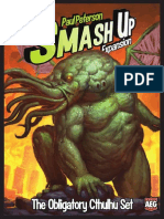 Smash Up Cthulhu Expansion Rulebook