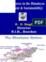 Water Resources in the Himalayas - Assesment and Sustanability by RD Singh