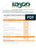 LED Spa Light Savings Calculation