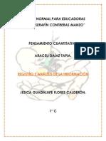Registro y análisis de la infromación (Romina)
