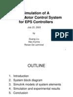 SimulationPMSM Motor Control System