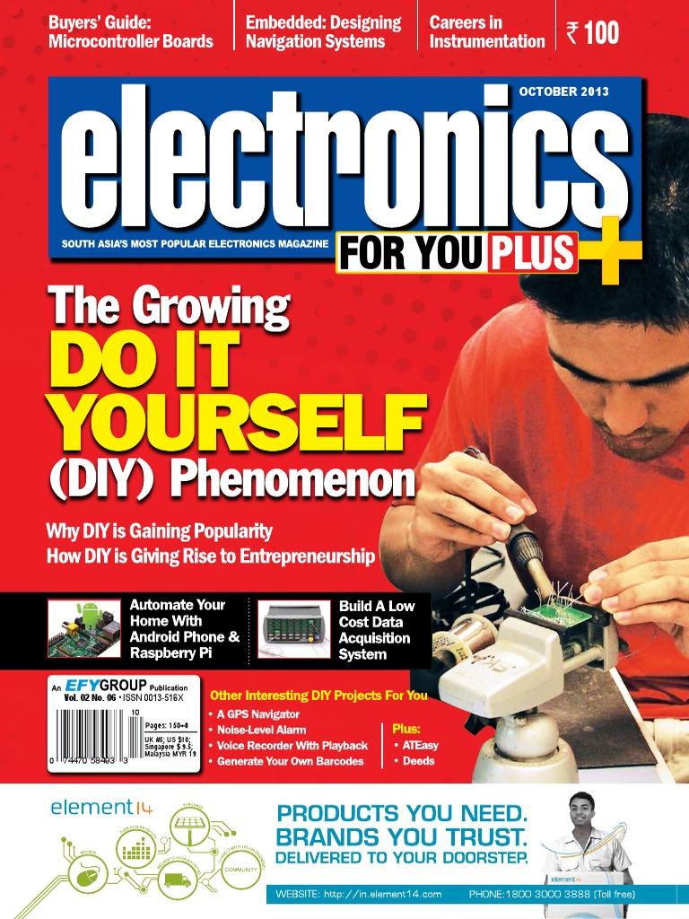 Electronics For You 201310 Tablet Computer Laptop Mediumpower Fm Transmitter Eeweb Community