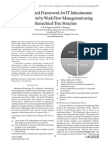 An Integrated Framework for IT Infrastructure Management by Work Flow Management using Hierarchical Tree Structure