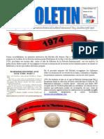 8º Boletín de Información del Ateneo Paz y Socialismo