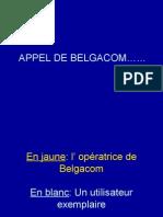 APPEL DE BELGACOM