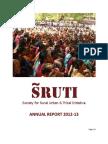 SRUTI Annual Report 2012-13