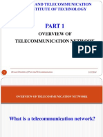 Part 1.1 Overview Telecom Network