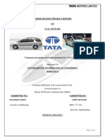 Krupa Tata Motors, MARKETING