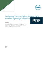 TR1049 Configure vSphere SW iSCSI With PS Series SAN v1 2