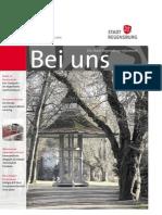 Stadt Regensburg - Bei Uns 1/2014