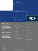 Hudl User Guide - Dec 2013