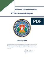 2013 Dote Annual Report