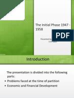 1947-1958 Industrialization of Pakistan