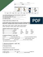 Test VIII - Berufe, Vokalwechsel