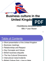 UK Business and Culture