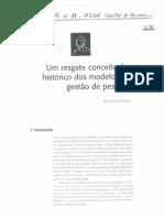 TEXTO 11 - GESTÃO DE PESSOAS - UM RESGATE CONCEITUAL