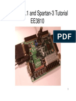 Spartan 3 Tutorial for Xilinx ISE 8.1