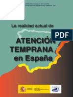 Atencion Temprana en Espana