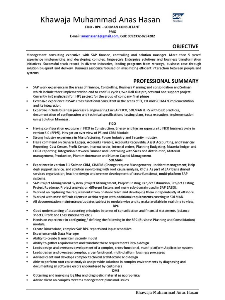 SAP Freelance Consultant | Customer Relationship Management ...