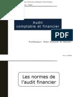 Audit Comptable Et Financier Du Professeur Mme Kaoutar El Menzhi