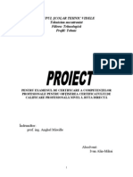 proect mecatronica